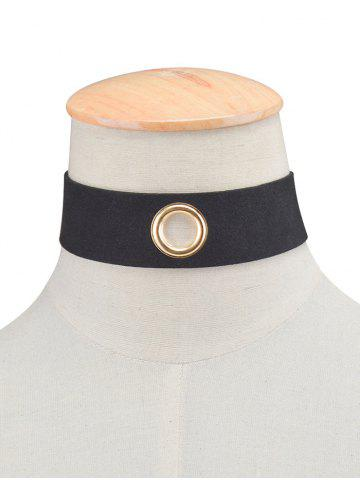 Best Rivet Hole Velvet Wide Choker