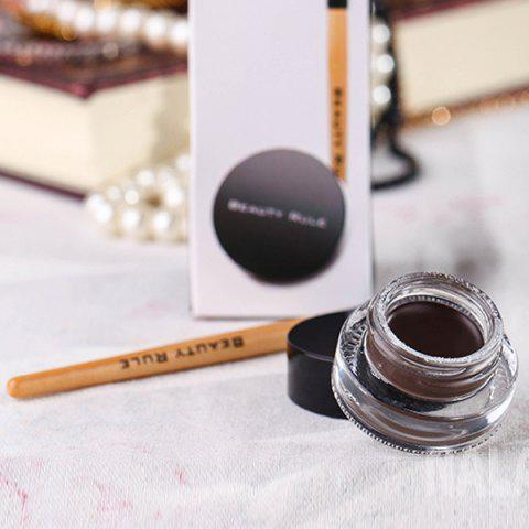 Cheap Waterproof Gel Eyeliner with Brush