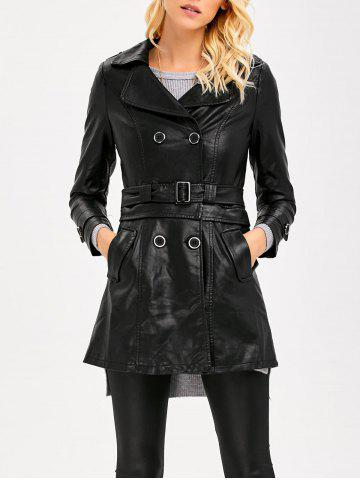 Affordable Convertible Faux Leather Jacket