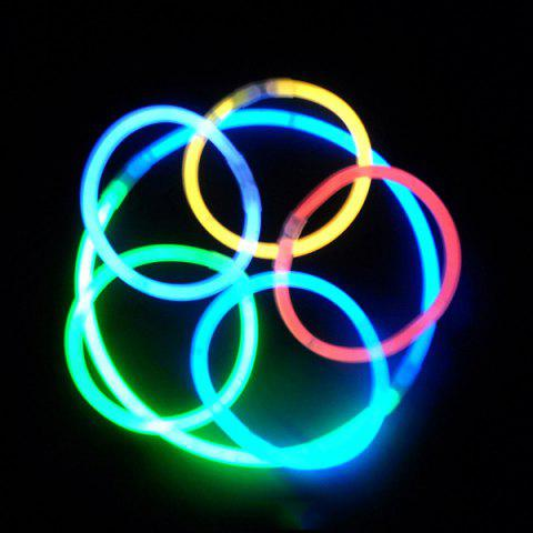 Store 20PCS Christmas Party Supplies Colorful Glow Sticks COLORFUL