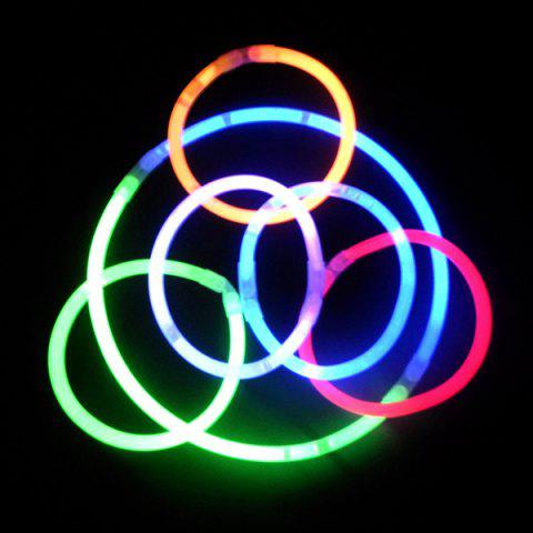 Buy 20PCS Christmas Party Supplies Colorful Glow Sticks - COLORFUL  Mobile