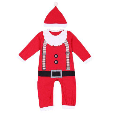 Cheap Merry Christmas Baby Jumpsuit Clothes Set