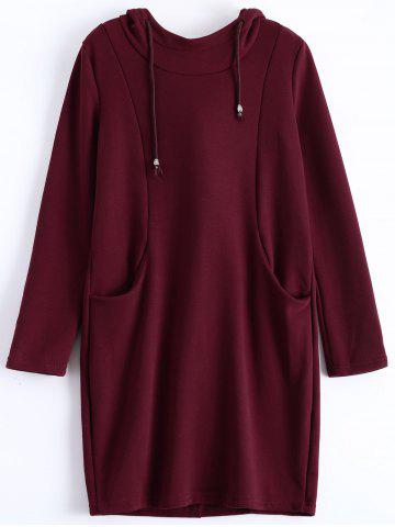 Best Plus Size Pullover Fleece Hoodie with Pockets