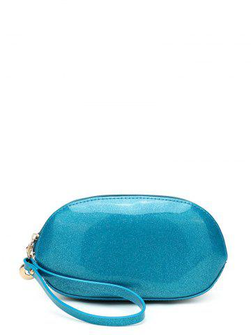 Outfits Zip Around Patent Leather Wristlet