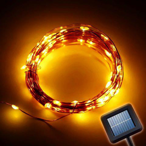 Solar Power LED String Light Christmas Festival Decoration Supplies - Warm White Light