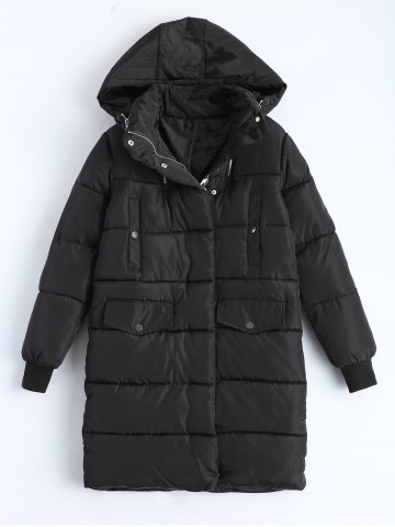Shop Hooded Padded Snow Coat