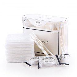 Travel Kit Compressed Wipes + Cotton Buds + Makeup Cottons