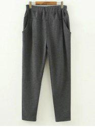 Plus Size Fleece Lined Track Pants
