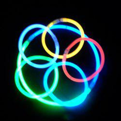 20PCS Christmas Party Supplies Colorful Glow Sticks -