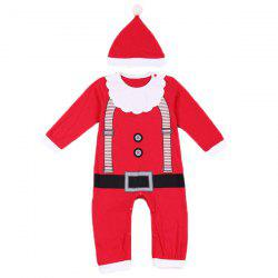 Merry Christmas Baby Jumpsuit Clothes Set -