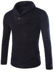 Shawl Collar Pullover Sweater -
