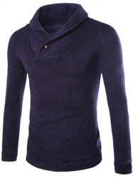 Shawl Collar Pullover Sweater