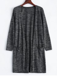 Open Front Long Sleeve Cardigan -