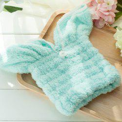 Rabbit Ear Hair Dryer Bath Towel -