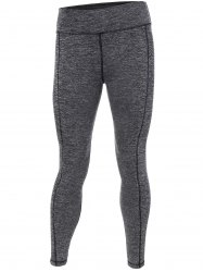 High Stretchy Yoga Running Leggings - GRAY