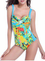 Padded Twist One-Piece Swimwear