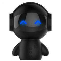Robot Bluetooth Portable Sound System Musique Surround - Noir