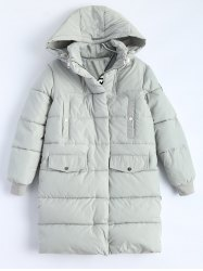 Hooded Padded Snow Coat