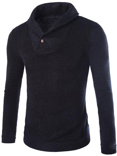 Shops Shawl Collar Pullover Sweater