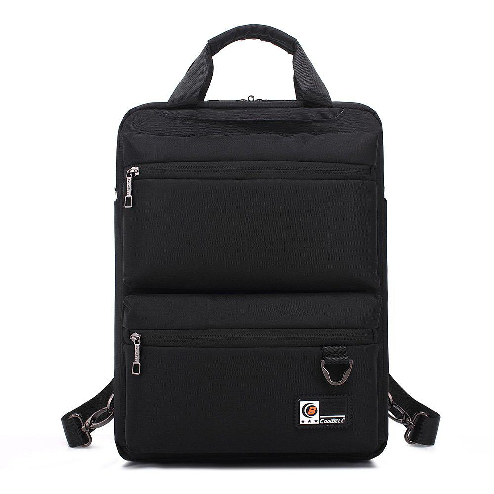 Pocket Nylon Zippers Backpack