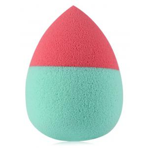 3 Pcs Two Tone Teardrop Shape Makeup Sponges -
