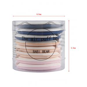 8 Pcs Calm Makeup BB Cream Powder Puffs - COLORMIX