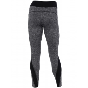 Heathered High Stretchy Athletic Leggings -