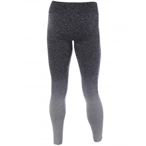 Ombre High Stretchy Running Leggings - GRAY L