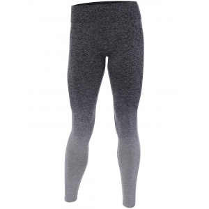 Ombre High Stretchy Running Leggings - Gray - M