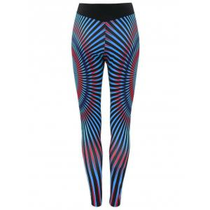 Stripe Running Leggings -
