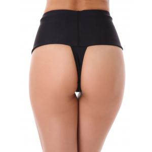 Thongs High Waisted Briefs -