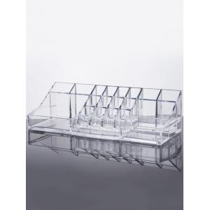 Display Stand Makeup Organizer - Transparent