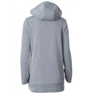 Hooded Half Zipper Sweat à capuche -