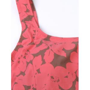 Floral Skirted One-Piece Swimwear -