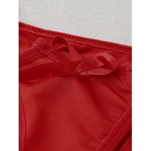 Bowknot Hollow Out G-Strings -