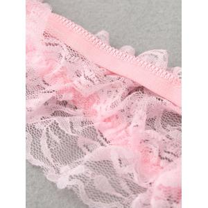 Sheer Beaded Lace G-Strings -