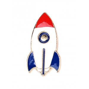 Star Moon Rocket Spaceman Брошь Set - Красочный