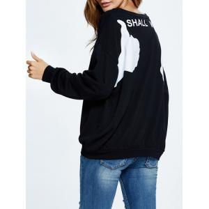 Shall We Graphic Sweatshirt -