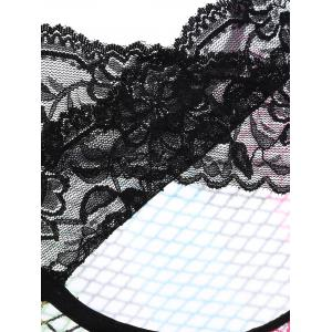 Iridescence Cut Out Babydolls - COLORMIX ONE SIZE