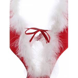 Santa Hottie Teddy Christmas Cosplay Costume -