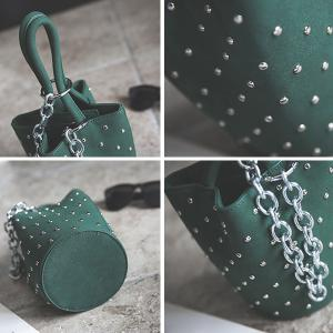 Mini Chains Rivet Handbag -