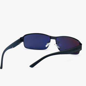 Metal Rectangle Driving Sunglasses -