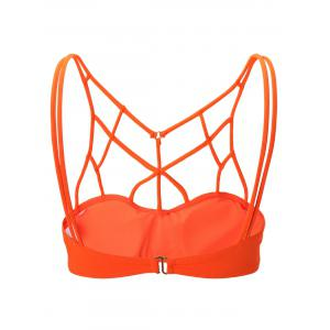 Strappy Cut Out Sports Bra -