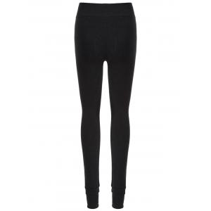 Thick Slim Fit Stirrup Leggings -