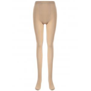 Skinny Stretchy Tights - Skin Color - One Size