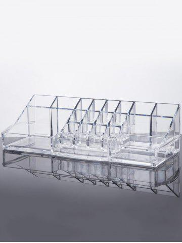 Chic Display Stand Makeup Organizer TRANSPARENT