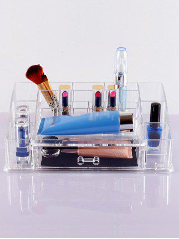 Affordable Acrylic Storage Makeup Organizer TRANSPARENT