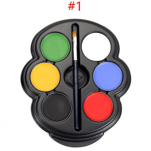 New 6 Colours Face Paint Kit