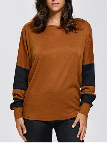 Shop Batwing Sleeve Colour Block T-Shirts