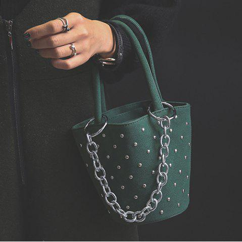 Sale Mini Chains Rivet Handbag